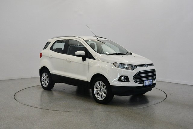Used Ford Ecosport BK Titanium PwrShift, 2017 Ford Ecosport BK Titanium PwrShift Diamond White 6 Speed Sports Automatic Dual Clutch Wagon