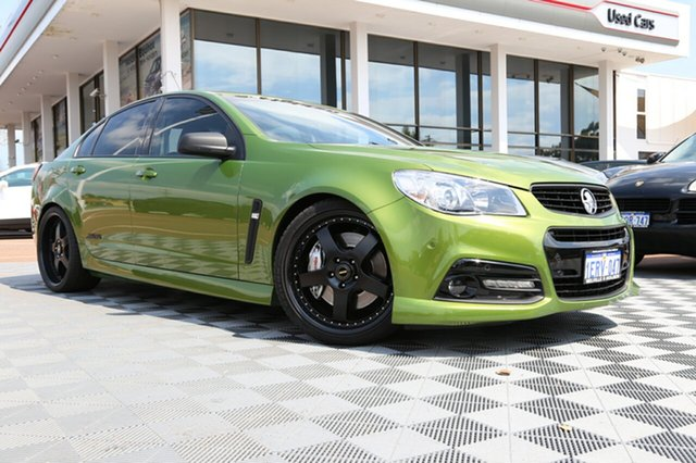 Used Holden Commodore VF MY15 SS V Redline, 2015 Holden Commodore VF MY15 SS V Redline Green 6 Speed Sports Automatic Sedan