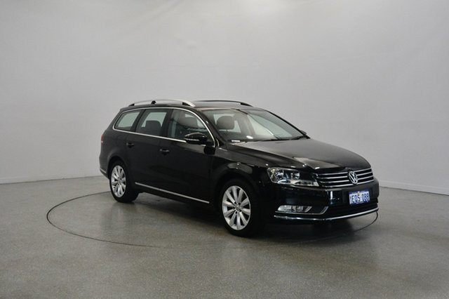 Used Volkswagen Passat Type 3C MY14.5 118TSI DSG, 2014 Volkswagen Passat Type 3C MY14.5 118TSI DSG Black 7 Speed Sports Automatic Dual Clutch Wagon