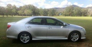 2012 Toyota Camry ASV50R Atara R SE Silver 6 Speed Automatic Sedan.
