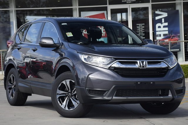 New Honda CR-V RW MY18 Vi FWD, 2018 Honda CR-V RW MY18 Vi FWD Modern Steel 1 Speed Constant Variable Wagon
