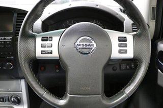2014 Nissan Navara D40 ST Titanium Edition (4x4) Red 6 Speed Manual Dual Cab Pick-up