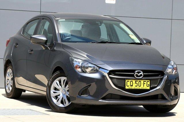Demo Mazda 2 DL2SAA Neo SKYACTIV-Drive, 2018 Mazda 2 DL2SAA Neo SKYACTIV-Drive Meteor Grey 6 Speed Sports Automatic Sedan
