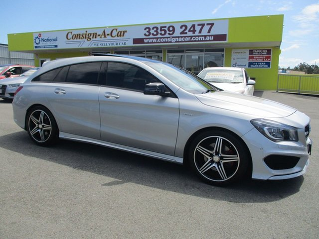 Used Mercedes-Benz CLA250 X117 Sport Shooting Brake DCT 4MATIC, 2015 Mercedes-Benz CLA250 X117 Sport Shooting Brake DCT 4MATIC Silver 7 Speed