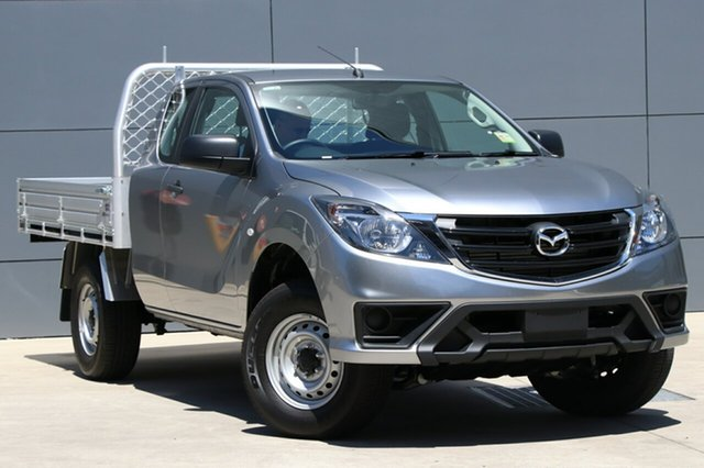 New Mazda BT-50 UR0YG1 XT Freestyle 4x2 Hi-Rider, 2018 Mazda BT-50 UR0YG1 XT Freestyle 4x2 Hi-Rider Aluminium 6 Speed Manual Cab Chassis