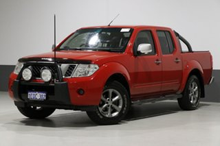 2014 Nissan Navara D40 ST Titanium Edition (4x4) Red 6 Speed Manual Dual Cab Pick-up.