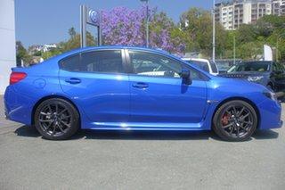 2018 Subaru WRX V1 MY19 Premium Lineartronic AWD WR Blue Mica 8 Speed Constant Variable Sedan.