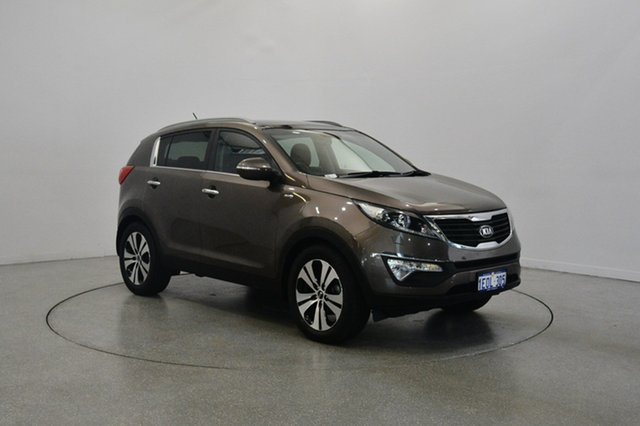 Used Kia Sportage SL Series II MY13 Platinum, 2014 Kia Sportage SL Series II MY13 Platinum Bronze 6 Speed Sports Automatic Wagon
