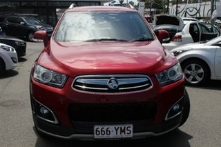 2015 Holden Captiva CG MY15 7 AWD LTZ Red 6 Speed Sports Automatic Wagon.