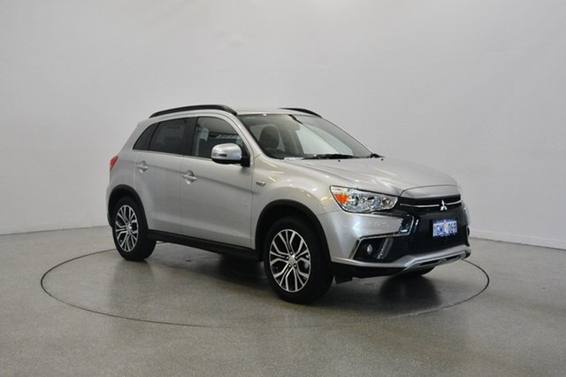 Used Mitsubishi ASX XC MY18 LS 2WD, 2018 Mitsubishi ASX XC MY18 LS 2WD Sterling Silver 6 Speed Constant Variable Wagon