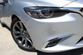 2017 Mazda 6 GL1031 Atenza SKYACTIV-Drive Sonic Silver 6 Speed Sports Automatic Sedan.