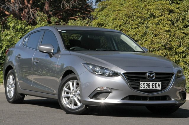Used Mazda 3 BM5278 Maxx SKYACTIV-Drive, 2014 Mazda 3 BM5278 Maxx SKYACTIV-Drive Aluminium 6 Speed Sports Automatic Sedan