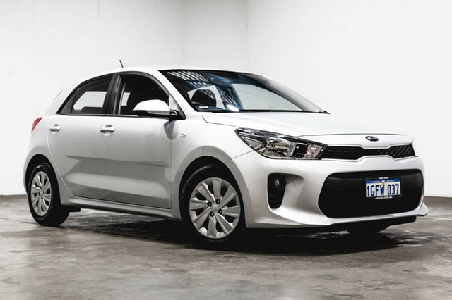 Used Kia Rio YB MY17 S, 2017 Kia Rio YB MY17 S Silver 4 Speed Sports Automatic Hatchback