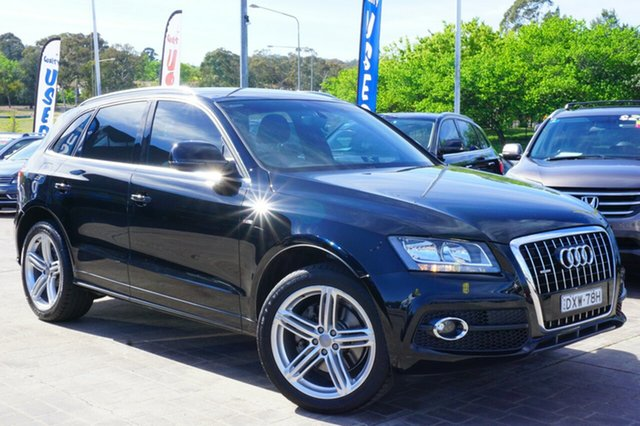 Used Audi Q5 8R MY11 TDI S tronic quattro, 2011 Audi Q5 8R MY11 TDI S tronic quattro Black 7 Speed Sports Automatic Dual Clutch Wagon