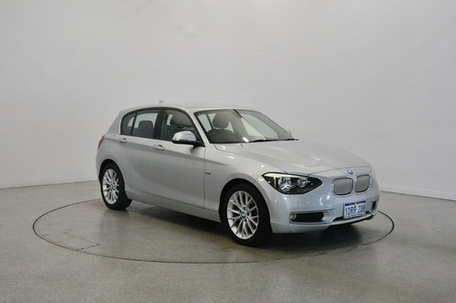Used BMW 118d F20 , 2012 BMW 118d F20 Silver 8 Speed Sports Automatic Hatchback