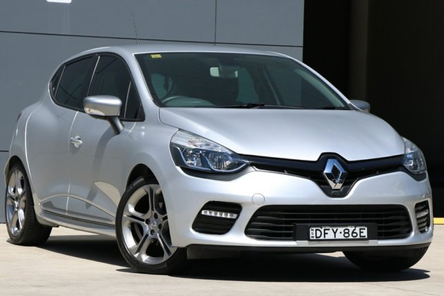 Used Renault Clio IV B98 GT EDC, 2016 Renault Clio IV B98 GT EDC Silver 6 Speed Sports Automatic Dual Clutch Hatchback
