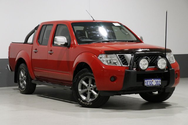 Used Nissan Navara D40 ST Titanium Edition (4x4), 2014 Nissan Navara D40 ST Titanium Edition (4x4) Red 6 Speed Manual Dual Cab Pick-up