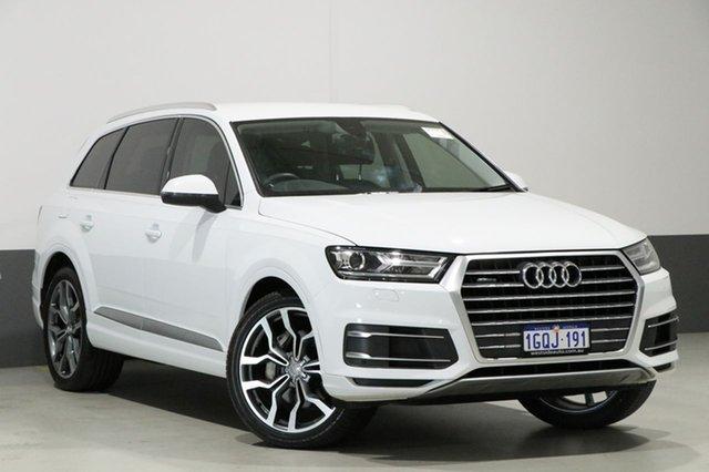 Used Audi Q7 4M MY18 3.0 TDI Quattro (160kW), 2017 Audi Q7 4M MY18 3.0 TDI Quattro (160kW) White 8 Speed Automatic Tiptronic Wagon
