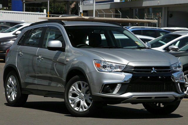 New Mitsubishi ASX XC MY19 ES (2WD), 2019 Mitsubishi ASX XC MY19 ES (2WD) Sterling Silver Continuous Variable Wagon