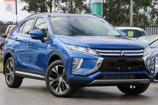 2020 Mitsubishi Eclipse Cross YA MY20 ES 2WD Lightning Blue 8 Speed Constant Variable Wagon.