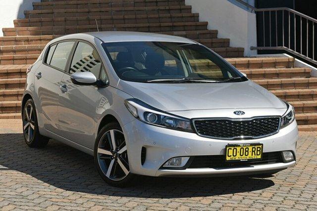 Used Kia Cerato YD MY18 Sport, 2017 Kia Cerato YD MY18 Sport Silver 6 Speed Sports Automatic Hatchback