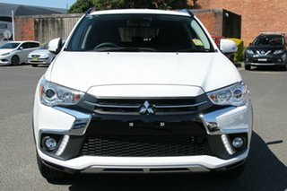 2018 Mitsubishi ASX XC MY19 LS (2WD) White Continuous Variable Wagon