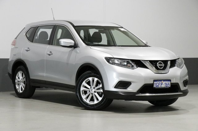 Used Nissan X-Trail T32 Series 2 ST (4WD), 2017 Nissan X-Trail T32 Series 2 ST (4WD) Silver Continuous Variable Wagon