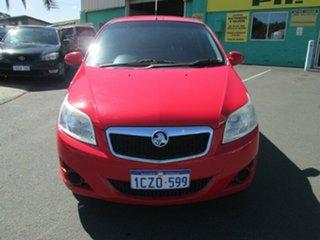 2008 Holden Barina TK - Red Manual.