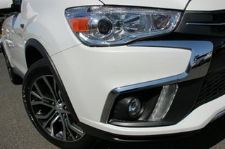 2018 Mitsubishi ASX XC MY19 LS (2WD) White Continuous Variable Wagon.
