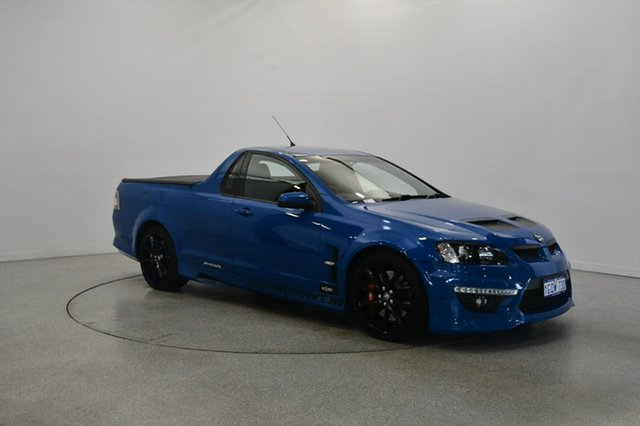 Used Holden Special Vehicles Maloo E Series 3 MY12.5 , 2013 Holden Special Vehicles Maloo E Series 3 MY12.5 Blue 6 Speed Sports Automatic Utility