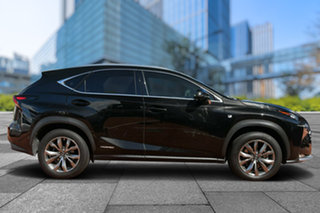 2014 Lexus NX AYZ15R NX300h E-CVT AWD F Sport Black 6 Speed Constant Variable Wagon Hybrid