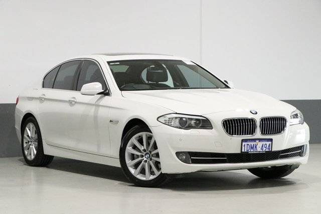Used BMW 528i F10 , 2010 BMW 528i F10 White 8 Speed Automatic Sedan