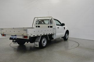 2015 Ford Ranger PX XL 4x2 Cool White 6 Speed Manual Cab Chassis.