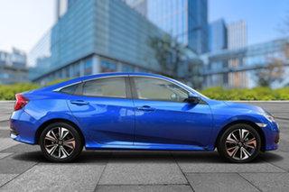 2017 Honda Civic 10th Gen MY17 VTi-LX Brilliant Sporty Blue 1 Speed Constant Variable Sedan