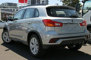 2019 Mitsubishi ASX XC MY19 ES (2WD) Sterling Silver Continuous Variable Wagon.