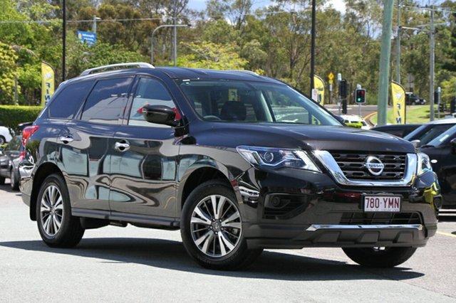 Demo Nissan Pathfinder R52 Series II MY17 ST X-tronic 2WD, 2017 Nissan Pathfinder R52 Series II MY17 ST X-tronic 2WD Diamond Black 1 Speed Constant Variable