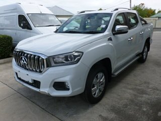 2018 LDV T60 MY17 Luxe (4x4) White 6 Speed Direct Shift Double Cab Utility.