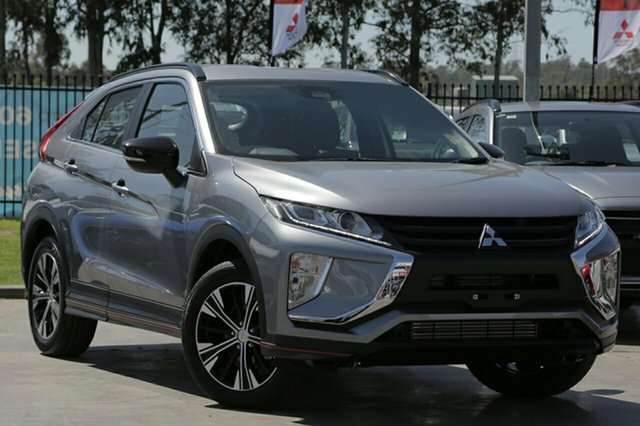 New Mitsubishi Eclipse Cross YA MY18 ES Sport Edition, 2019 Mitsubishi Eclipse Cross YA MY18 ES Sport Edition Titanium Continuous Variable Wagon
