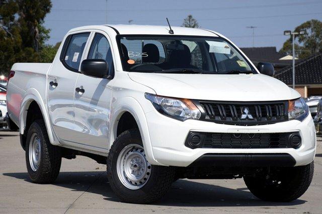 New Mitsubishi Triton MQ MY18 GLX Double Cab 4x2, 2018 Mitsubishi Triton MQ MY18 GLX Double Cab 4x2 White 5 Speed Sports Automatic Utility