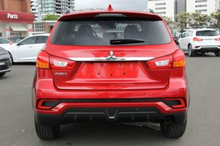 2019 Mitsubishi ASX XC MY19 LS (2WD) Red Continuous Variable Wagon