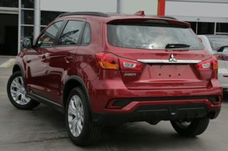 2019 Mitsubishi ASX XC MY19 ES 2WD Red 6 Speed Constant Variable Wagon.