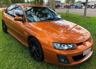 2005 Holden Special Vehicles Clubsport Z Series R8 Orange 4 Speed Automatic Sedan.