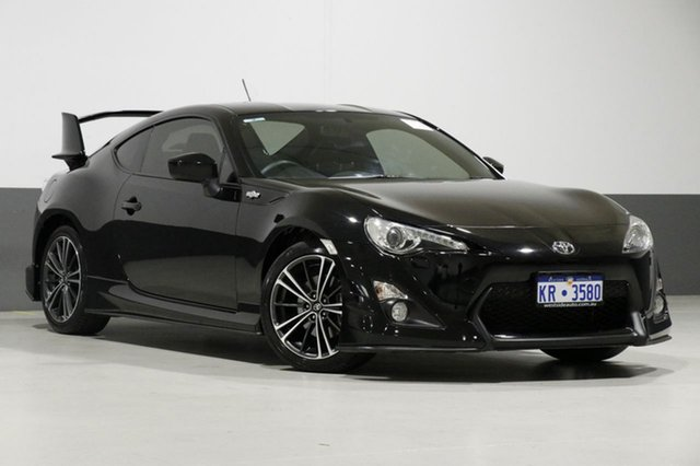 Used Toyota 86 ZN6 MY14 Upgrade GTS, 2014 Toyota 86 ZN6 MY14 Upgrade GTS Black 6 Speed Manual Coupe