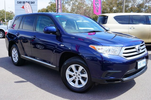 Used Toyota Kluger GSU40R MY11 KX-R 2WD, 2011 Toyota Kluger GSU40R MY11 KX-R 2WD Blue 5 Speed Sports Automatic Wagon