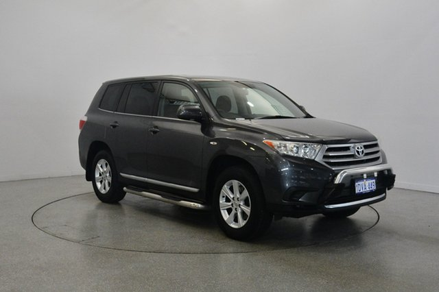 Used Toyota Kluger GSU40R MY12 KX-R 2WD, 2012 Toyota Kluger GSU40R MY12 KX-R 2WD Grey 5 Speed Sports Automatic Wagon