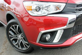 2019 Mitsubishi ASX XC MY19 LS (2WD) Red Continuous Variable Wagon.