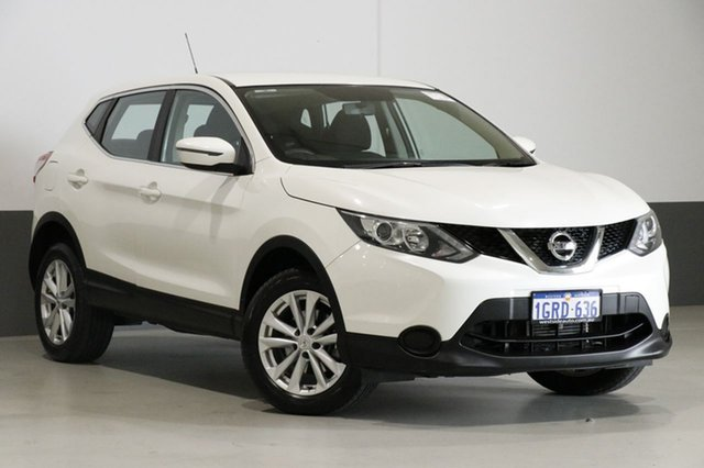 Used Nissan Qashqai J11 ST, 2017 Nissan Qashqai J11 ST Ivory Pearl Continuous Variable Wagon