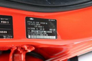 2015 Ford Ranger PX Wildtrak Double Cab Orange 6 Speed Sports Automatic Utility