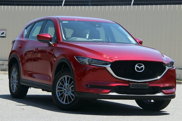 New Mazda CX-5 KF4WLA Touring SKYACTIV-Drive i-ACTIV AWD Liverpool, 2020 Mazda CX-5 KF4WLA Touring SKYACTIV-Drive i-ACTIV AWD Soul Red Crystal 6 Speed Sports Automatic
