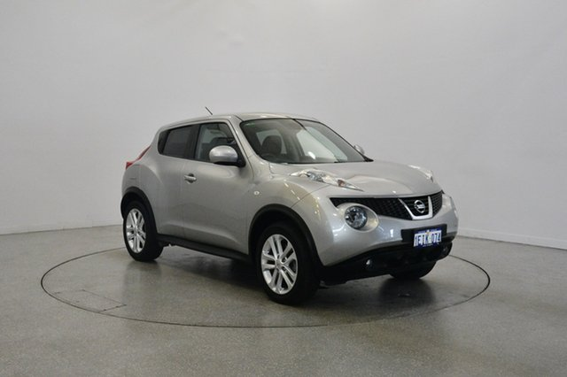 Used Nissan Juke F15 MY14 Ti-S AWD, 2013 Nissan Juke F15 MY14 Ti-S AWD Grey 1 Speed Constant Variable Hatchback